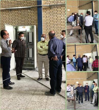 بومی سازی ماشین تزریق مفتول مغزدار توسط شرکت آتیه فولاد معدن پارسیان