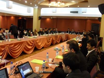 همایش مدیران عامل شرکت های زیرمجموعه 29 آذر 1391 تهران