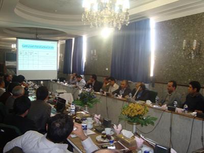 همایش مدیران عامل شرکت های زیرمجموعه 11 آذر 1392 اصفهان