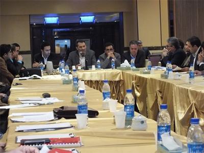 همایش مدیران عامل شرکت های زیرمجموعه 8 مهر 1392 تهران