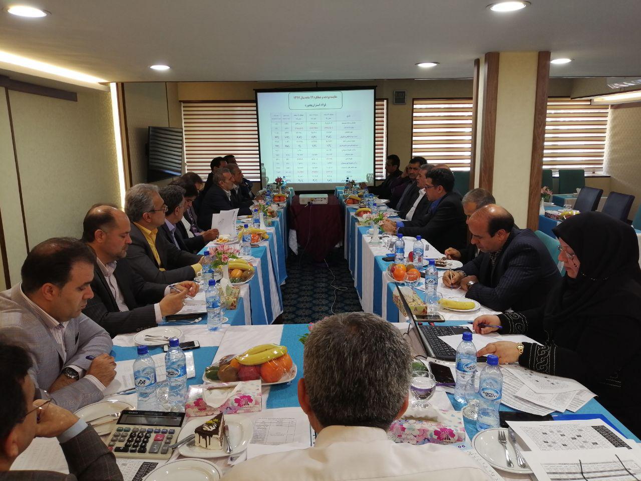 همایش مدیران عامل، مدیران بازرگانی و مالی شرکت های زیرمجموعه 28 فروردین 1398