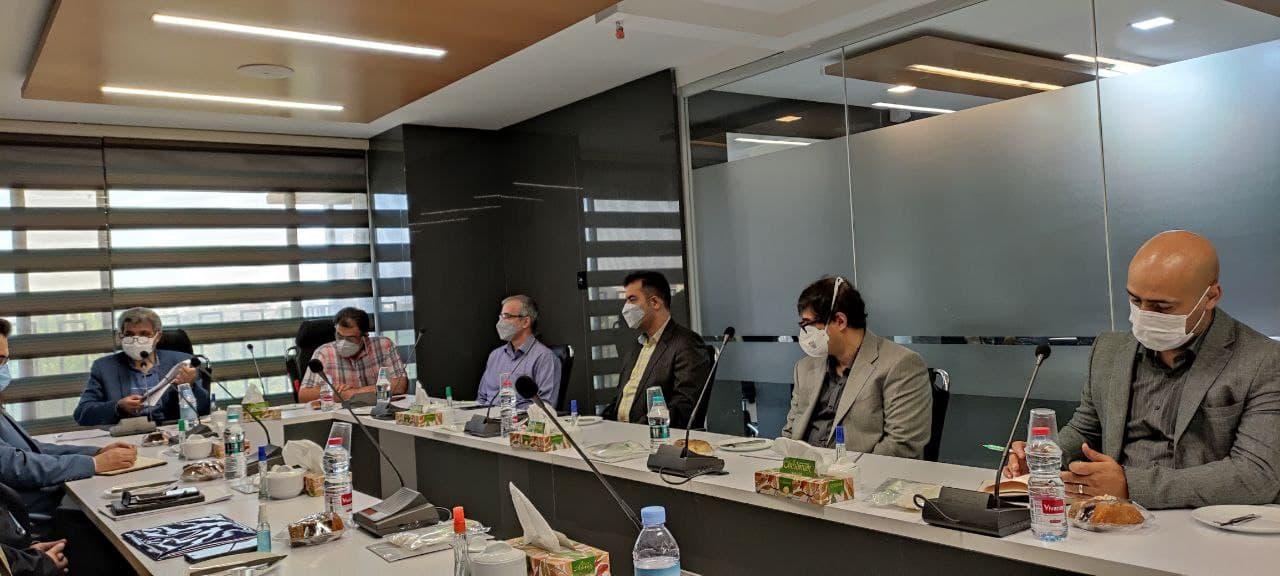 جلسات ارزیابی جامع عملکرد سال 99 هلدینگ آتیه فولاد نقش جهان برگزار شد