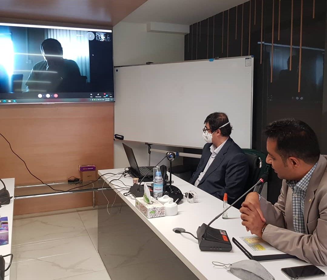 برگزاری جلسه بررسی RBV شرکت آهن فولاد کاسپین