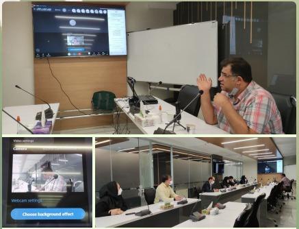 برگزاری جلسه آموزشی تدریس قوانین تجاری و مالیاتی برای شرکت های فرعی هلدینگ آتیه فولاد نقش