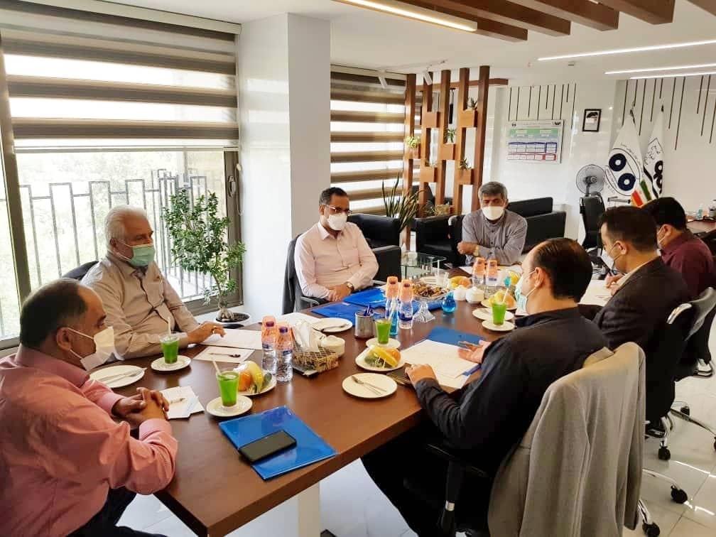 اولین جلسه مشترک مدیران عامل هلدینگ های مراکز خدماتی فولاد مبارکه در هلدینگ آتیه برگزار شد