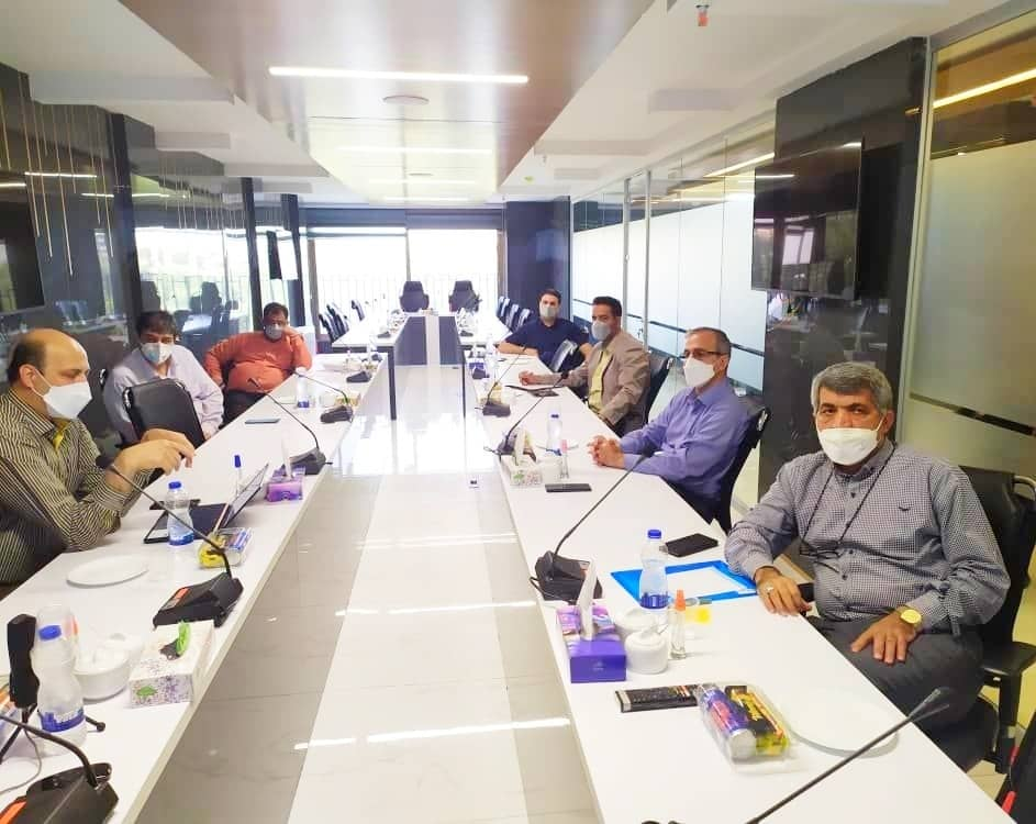 برگزاری جلسه بررسی و ارزیابی از عملکرد نرم افزار یکپارچه آرین سیستم