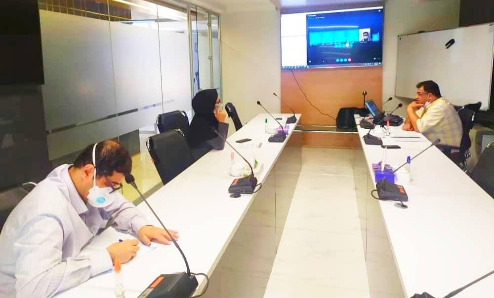 برگزاری جلسه بررسی و کنترل پیشرفت فیزیکی پروژه های دردست اقدام شرکتهای فرعی